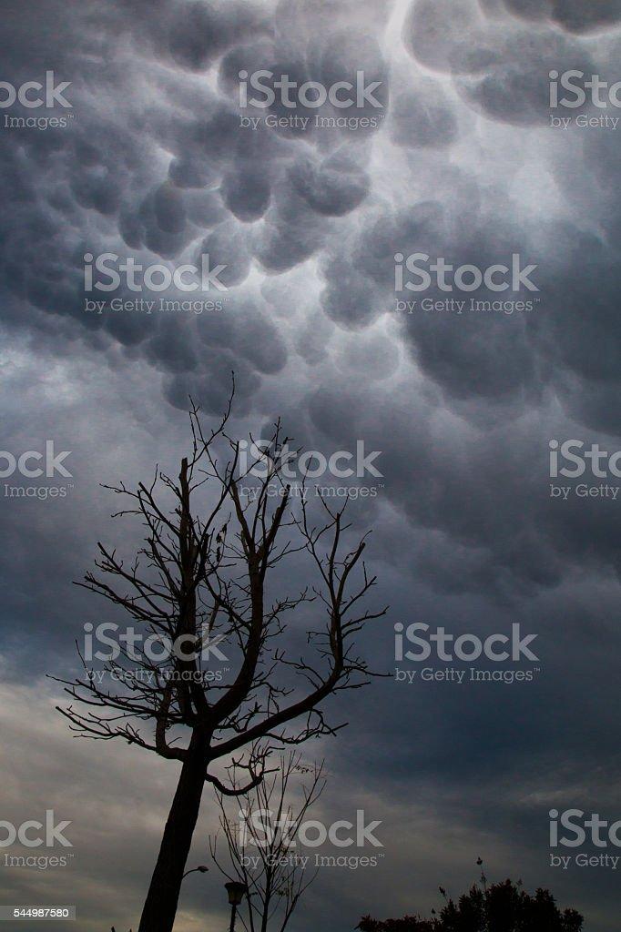 Stormy Skies stock photo