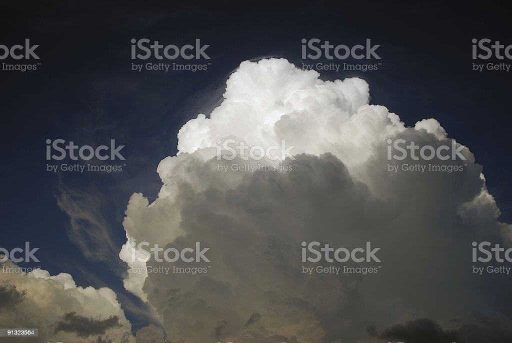 Stürmischen Himmel Lizenzfreies stock-foto