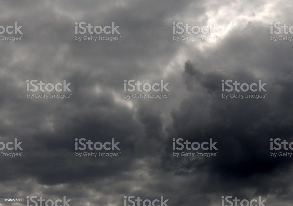 Stormy Sky royalty-free stock photo
