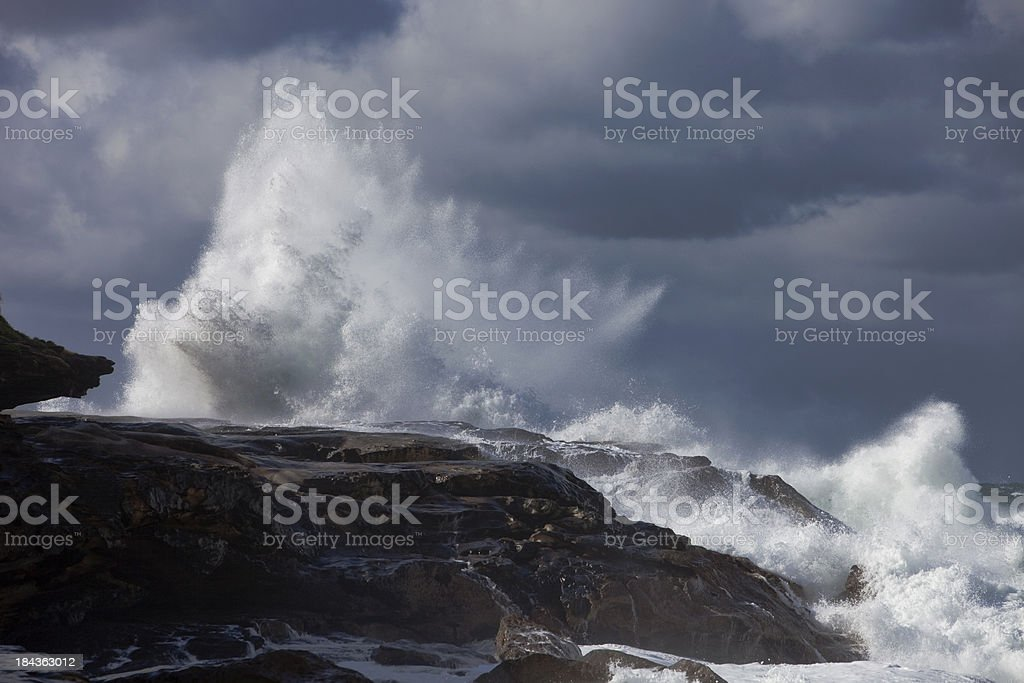 Stormy Waves royalty-free stock photo