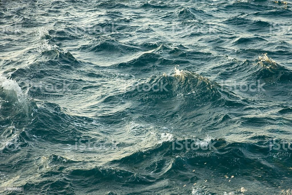 Stormy Waves stock photo