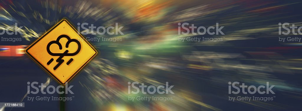 Stormy Weather Ahead royalty-free stock photo