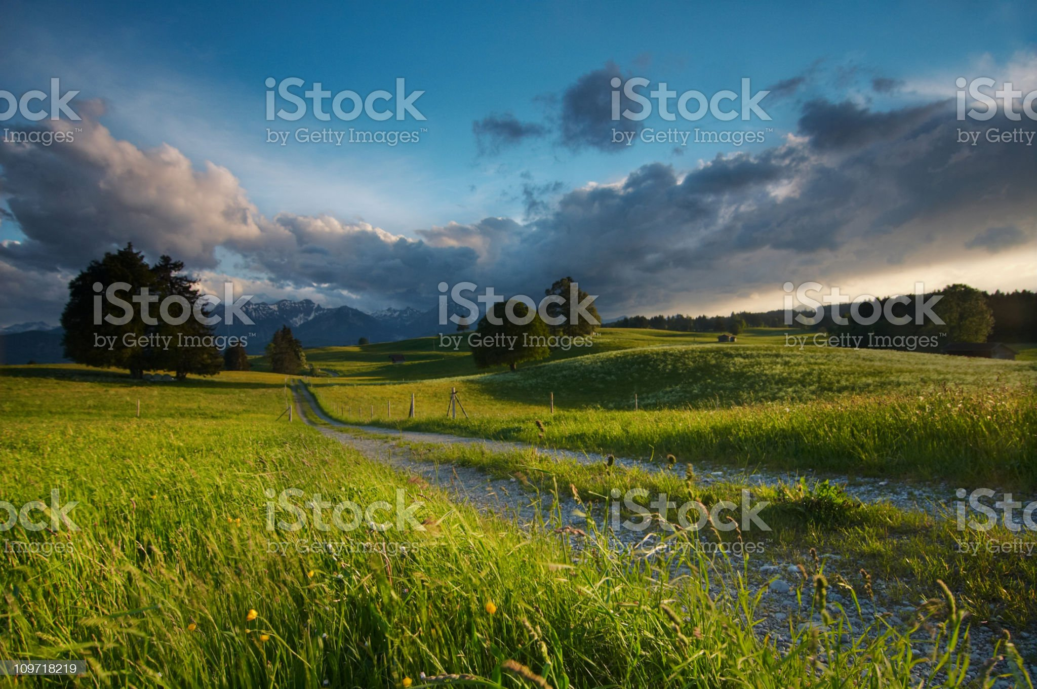 stormy weather royalty-free stock photo