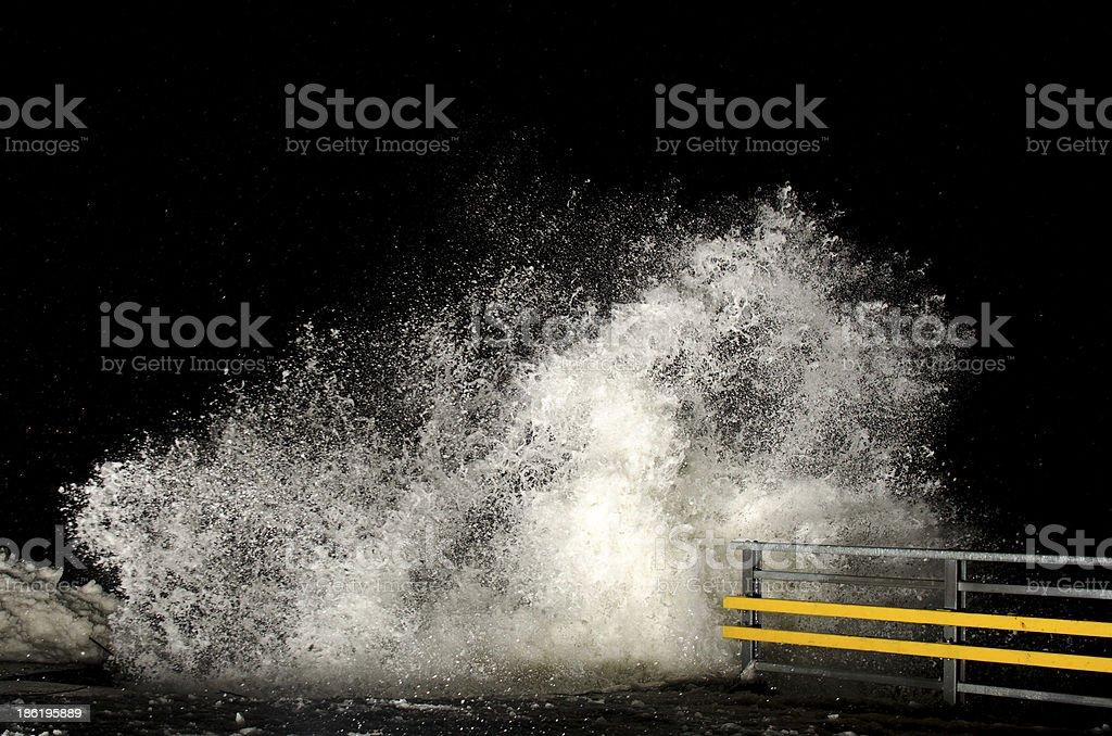 Stormy weather stock photo