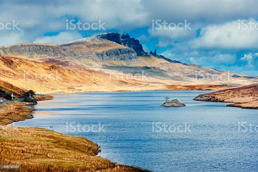 Storr, Isle of Skye, Scotland stock photo