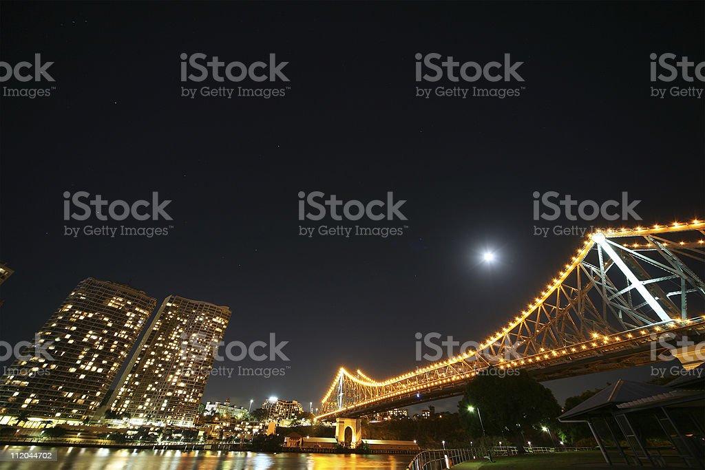 Story Bridge, Brisbane, Australia stock photo