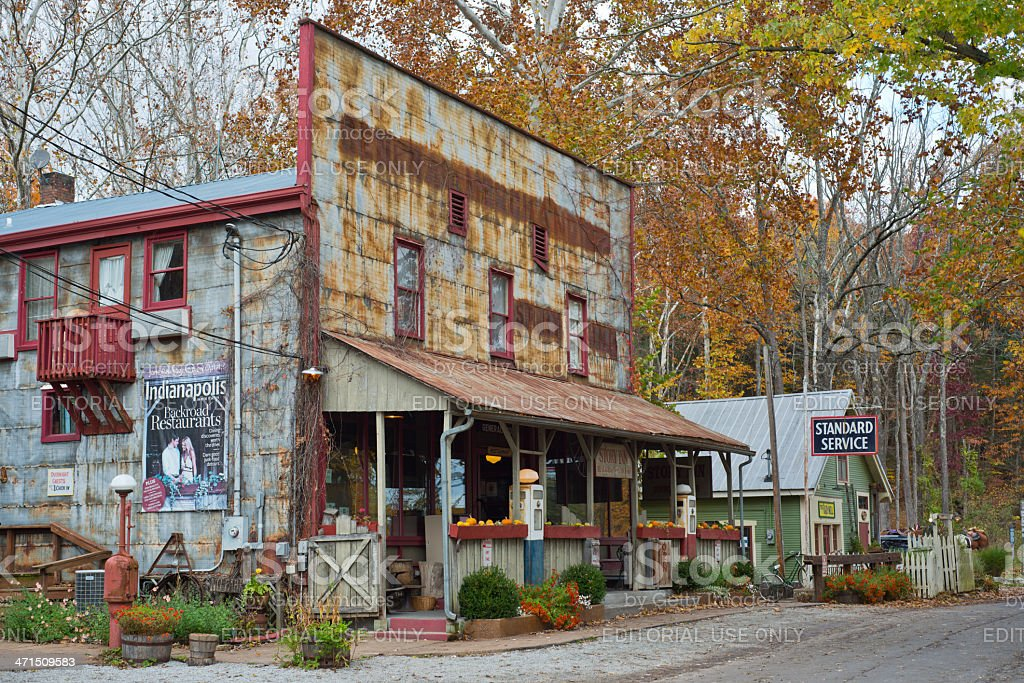 Story Inn in Brown County stock photo