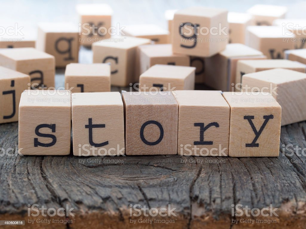 Story, stock photo