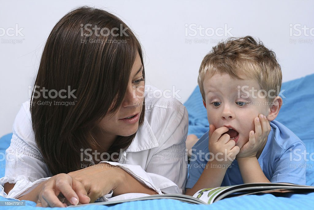 story time stock photo