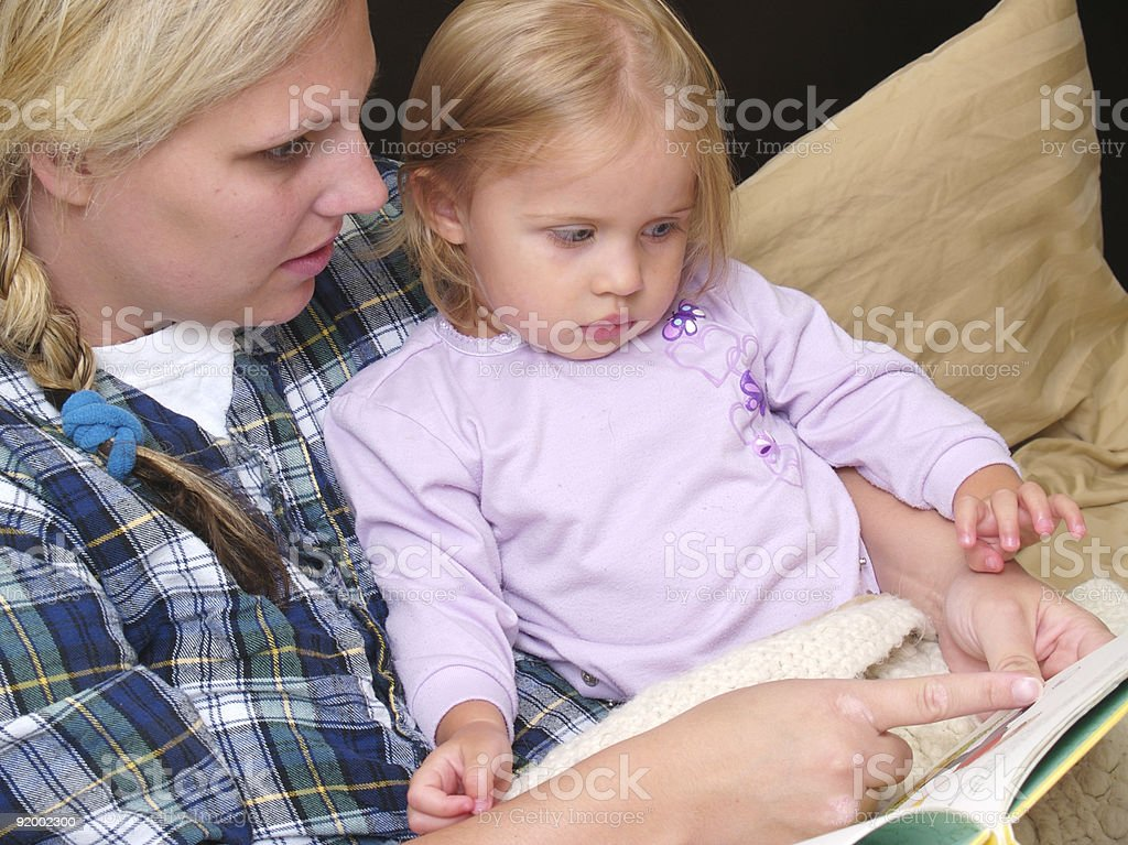 Story Time royalty-free stock photo