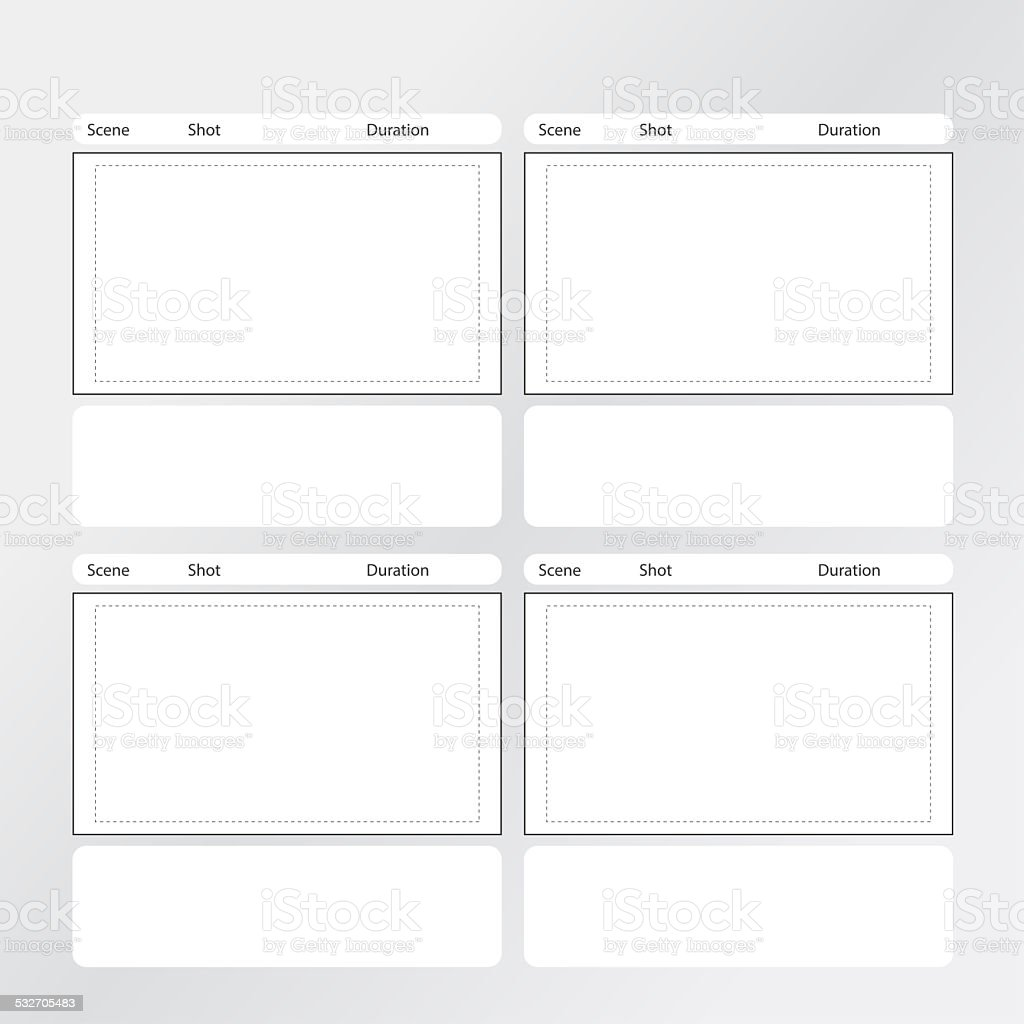 Vertical Storyboard Sample Story Board Professional Storyboard