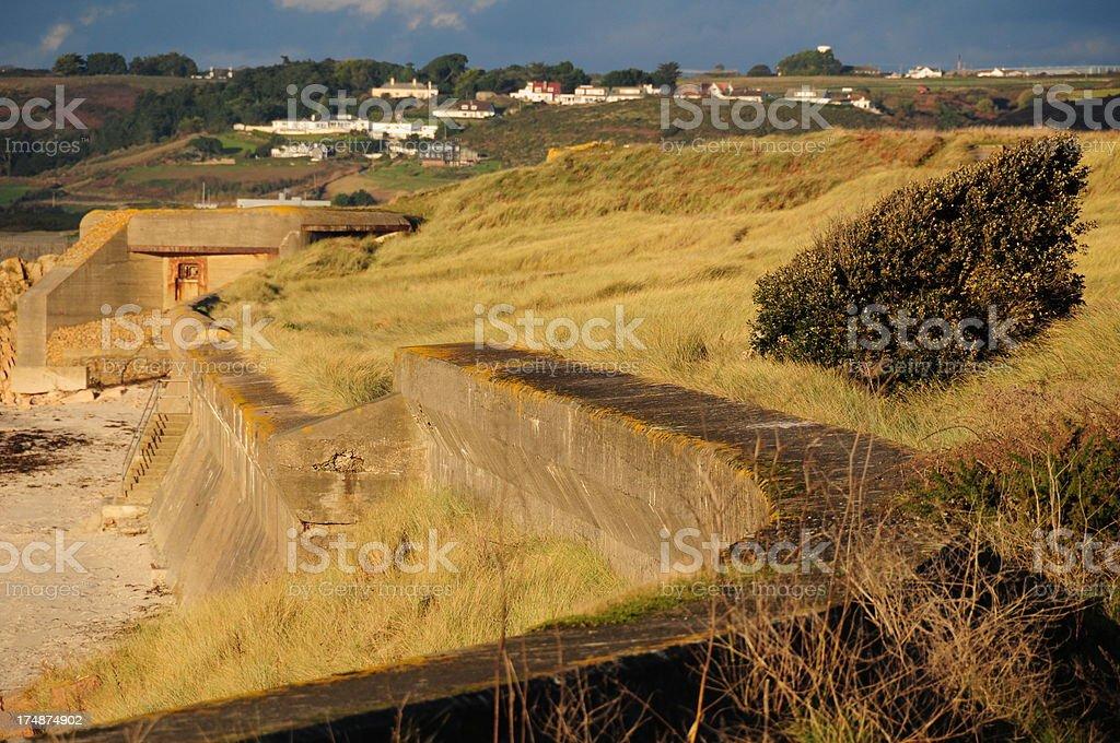 St.Ouen Bay, Jersey. royalty-free stock photo