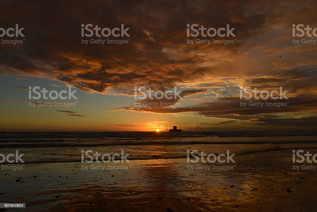 St.Ouen's Bay, Jersey, U.K. stock photo