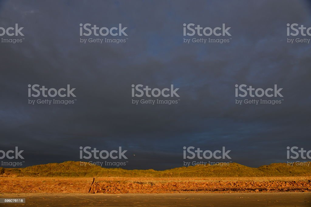 St.Ouen's beach, Jersey, U.K. stock photo