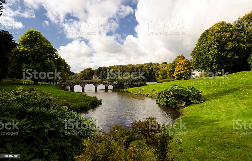 Stourhead Gardens stock photo