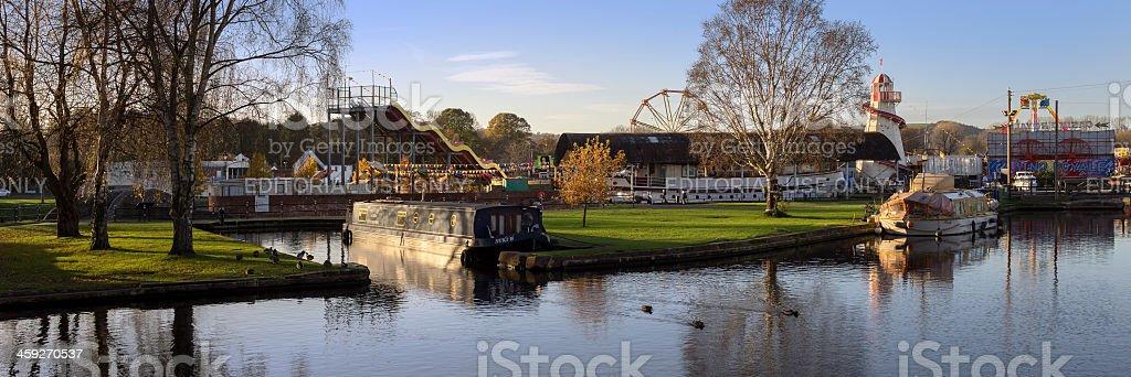 stourport royalty-free stock photo