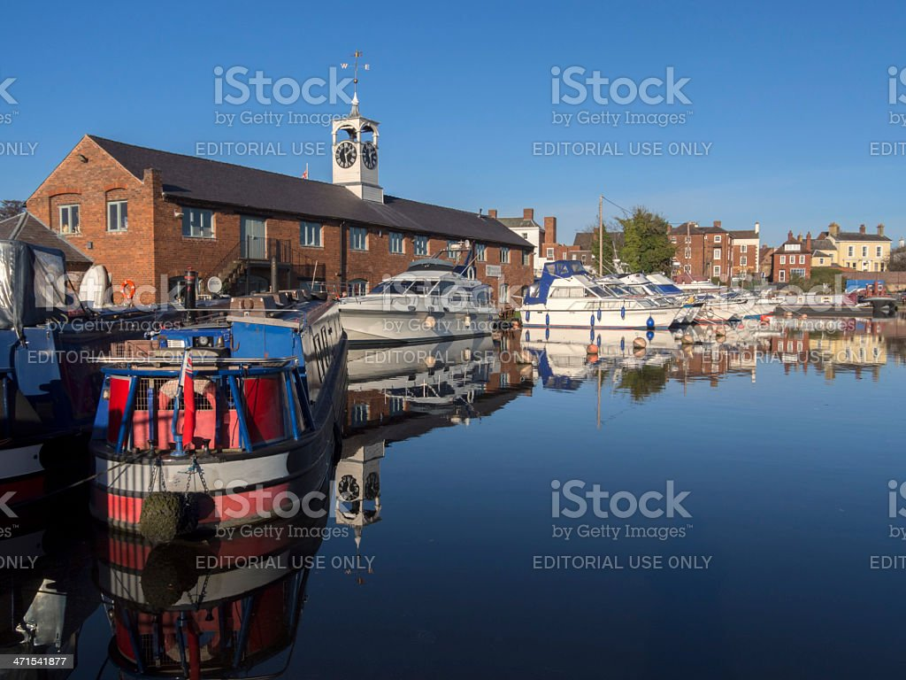 stourport royalty-free stock photo