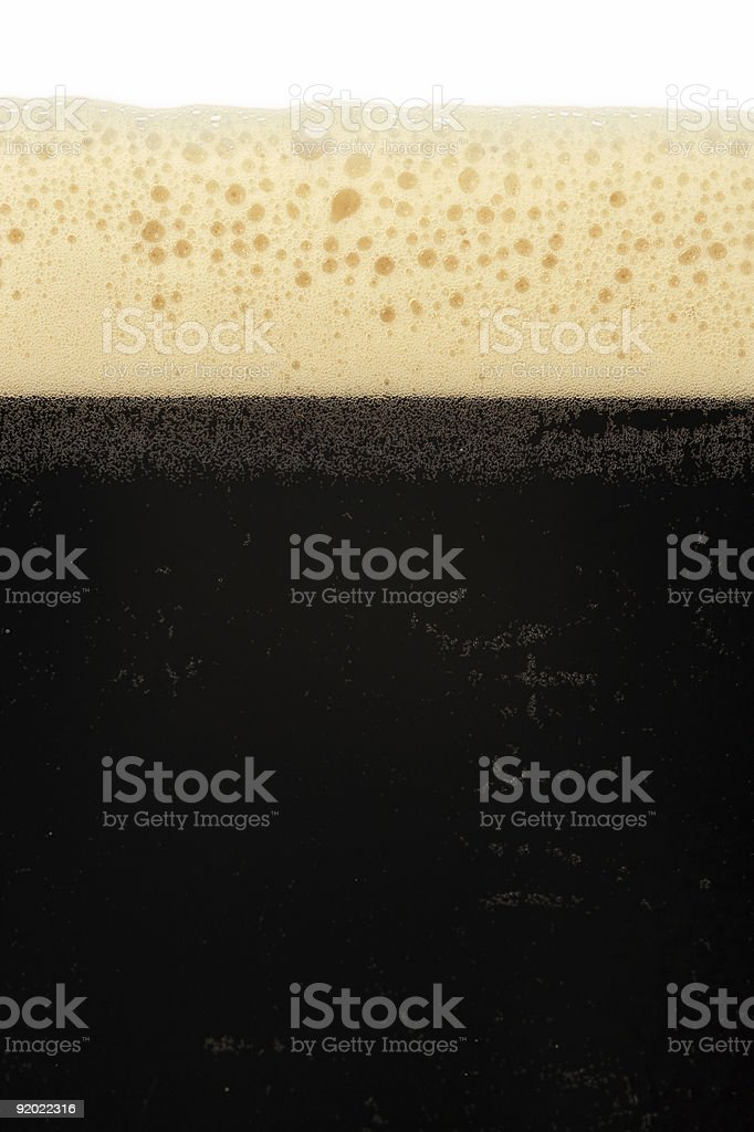 Stout beer royalty-free stock photo