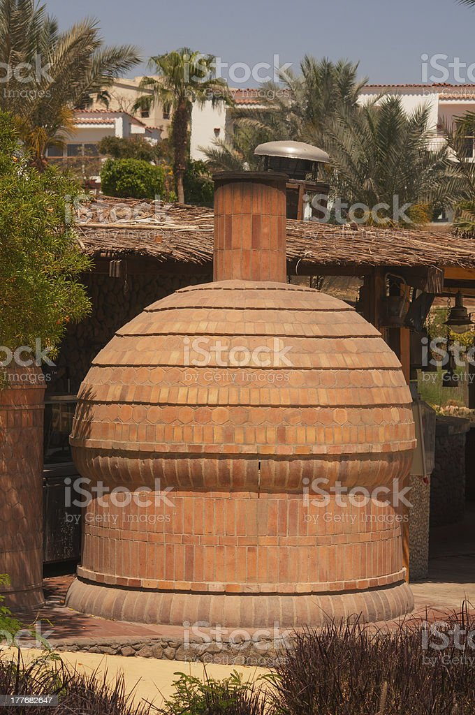 stove in Egypt royalty-free stock photo