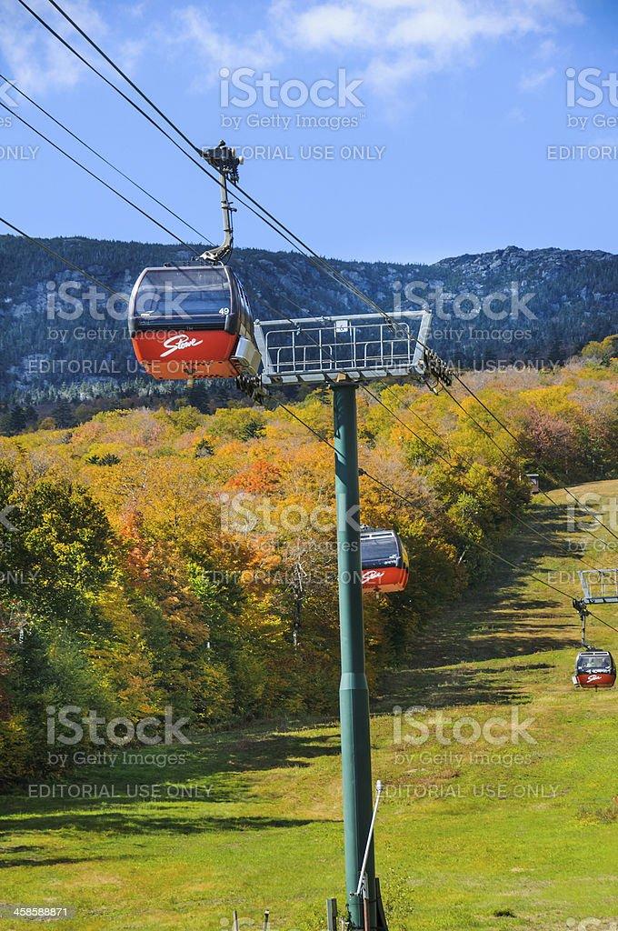 Stowe Gondolas stock photo