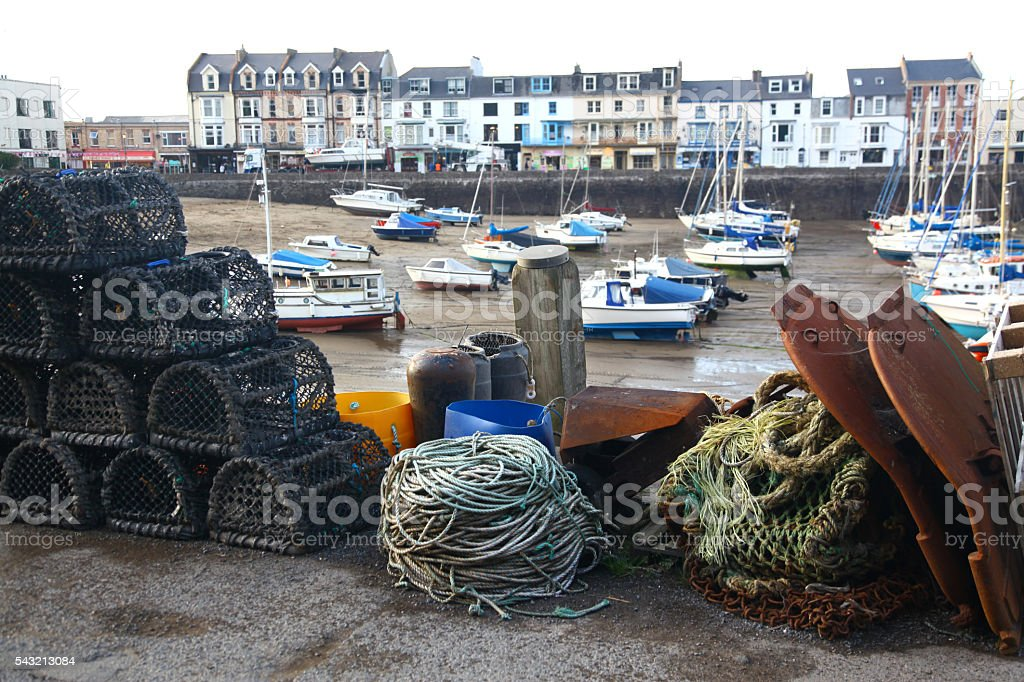 Stowed for Sea stock photo
