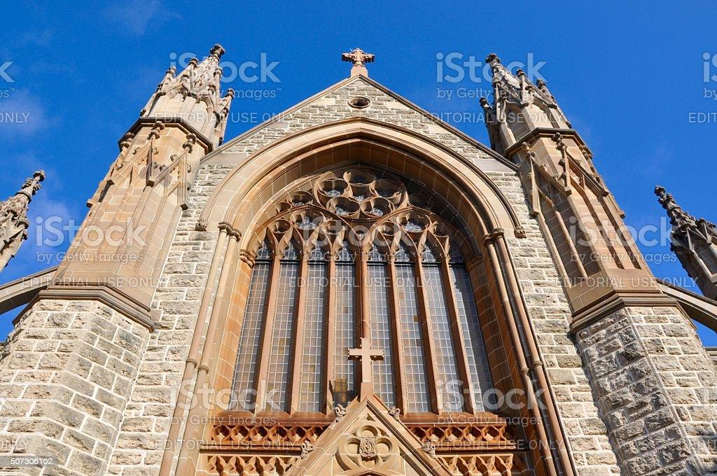 St.Patrick's Basilica in Fremantle stock photo