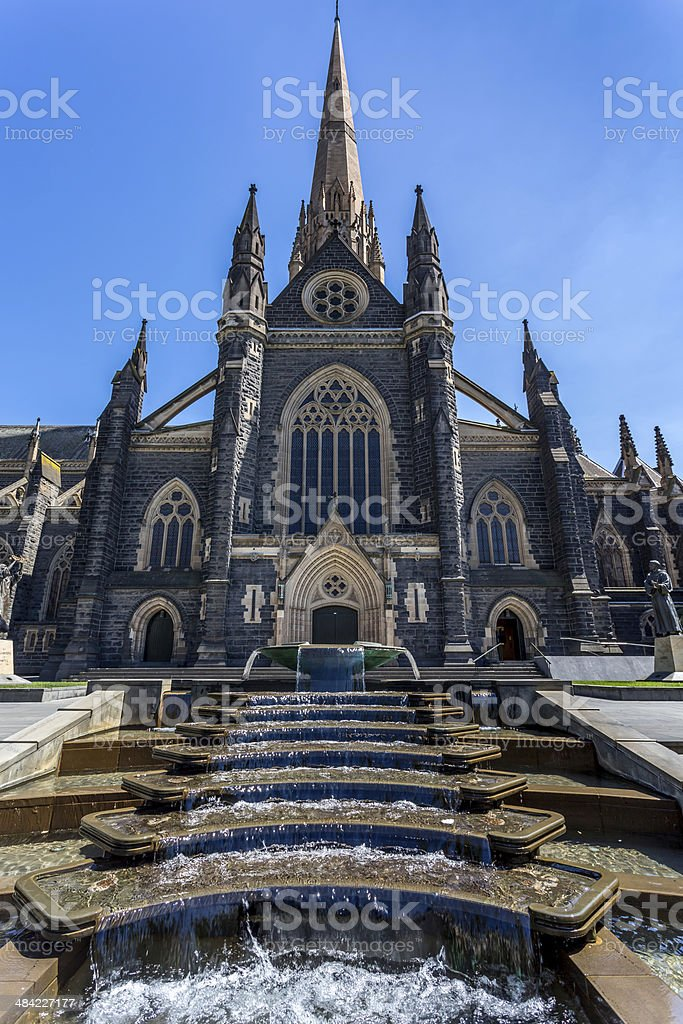 St-Patrick's Cathedral stock photo