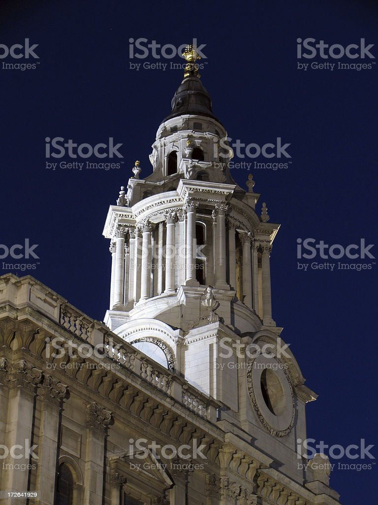 St.Pauls cathedral in London stock photo