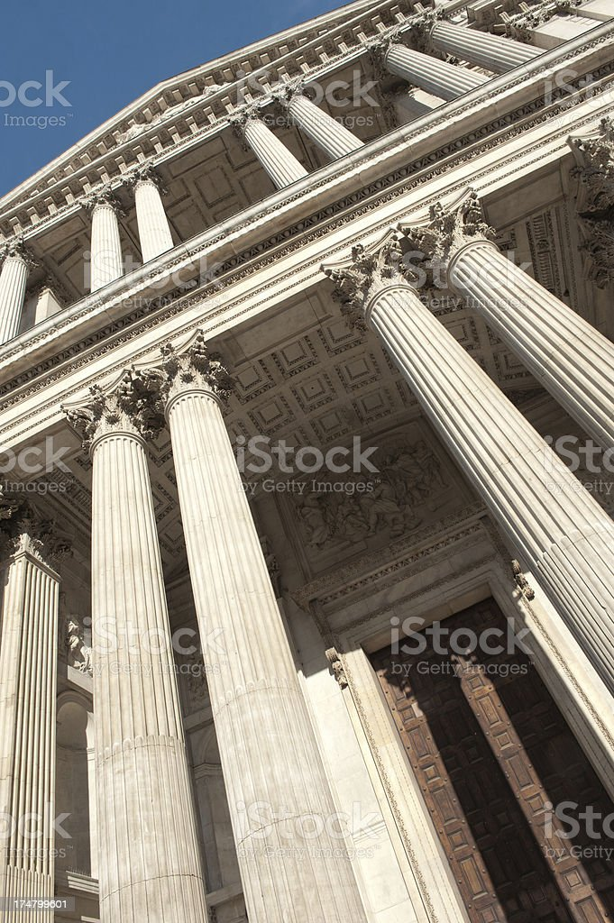 St.Paul's Cathedral, London, United Kingdom royalty-free stock photo