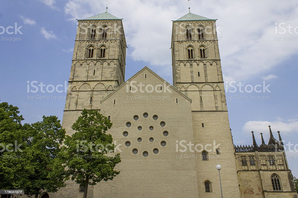 St.-Paulus-Dom Muenster Germany royalty-free stock photo