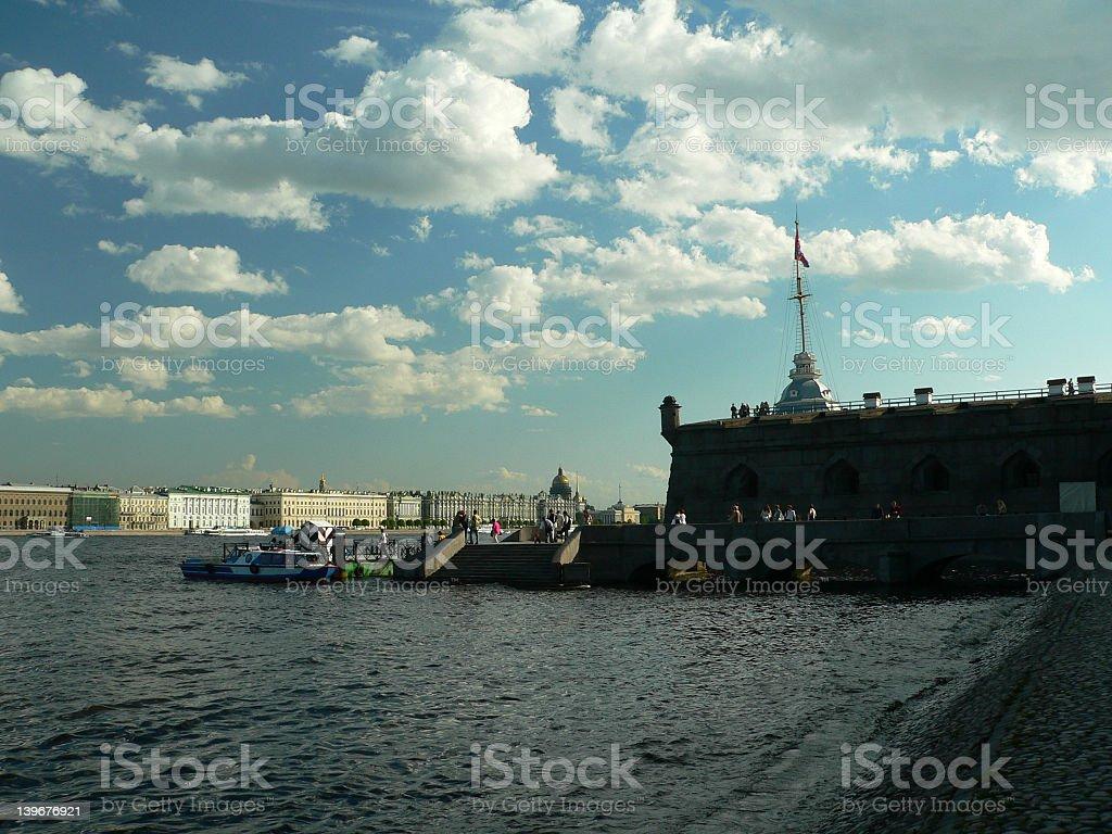 St.Petersburg royalty-free stock photo