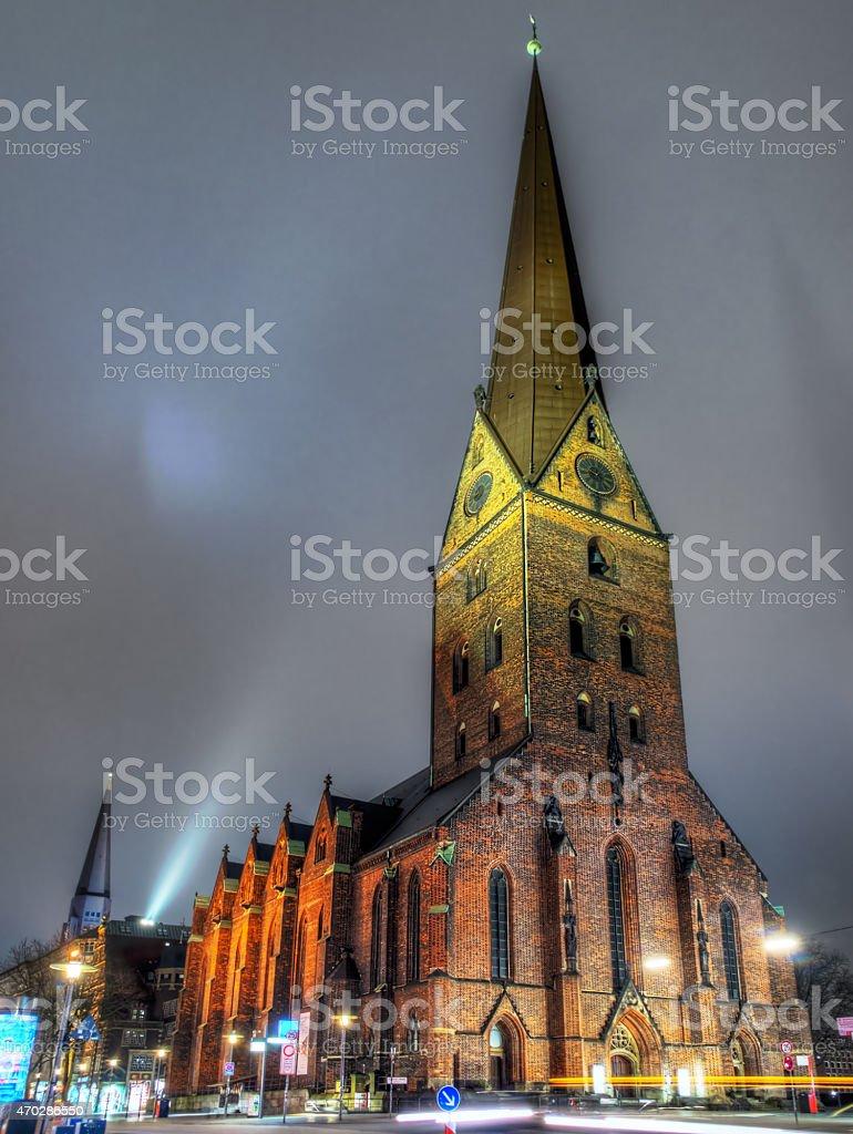 St.Petri stock photo