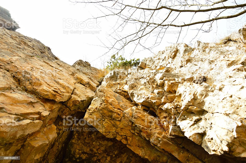 Strada delle 52 gallerie, the road with tunnels, Vicenza stock photo