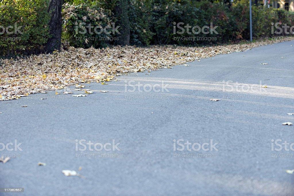 Strada royalty-free stock photo