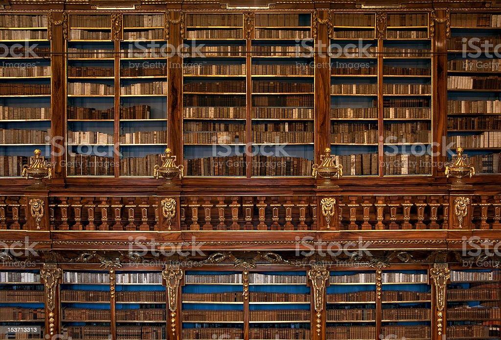 Strahov Library Philosophy Hall stock photo
