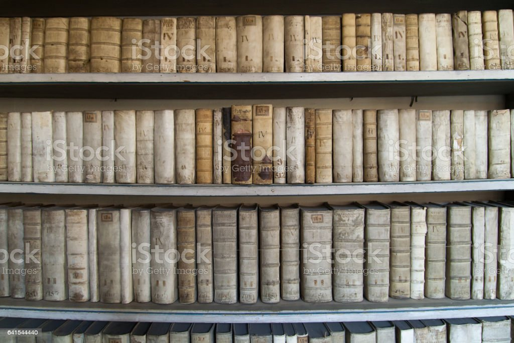 Strahov Library stock photo