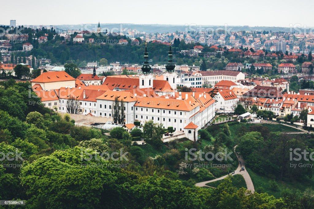 Strahov Monastery In Prague stock photo