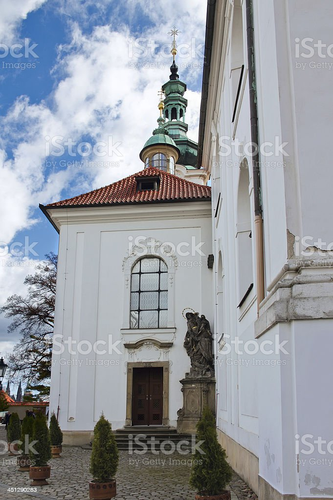 Strahov Monastery, Prague, Czech Republic royalty-free stock photo