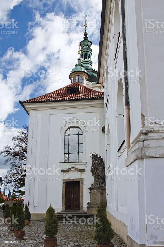 Strahov Monastery, Prague, Czech Republic stock photo