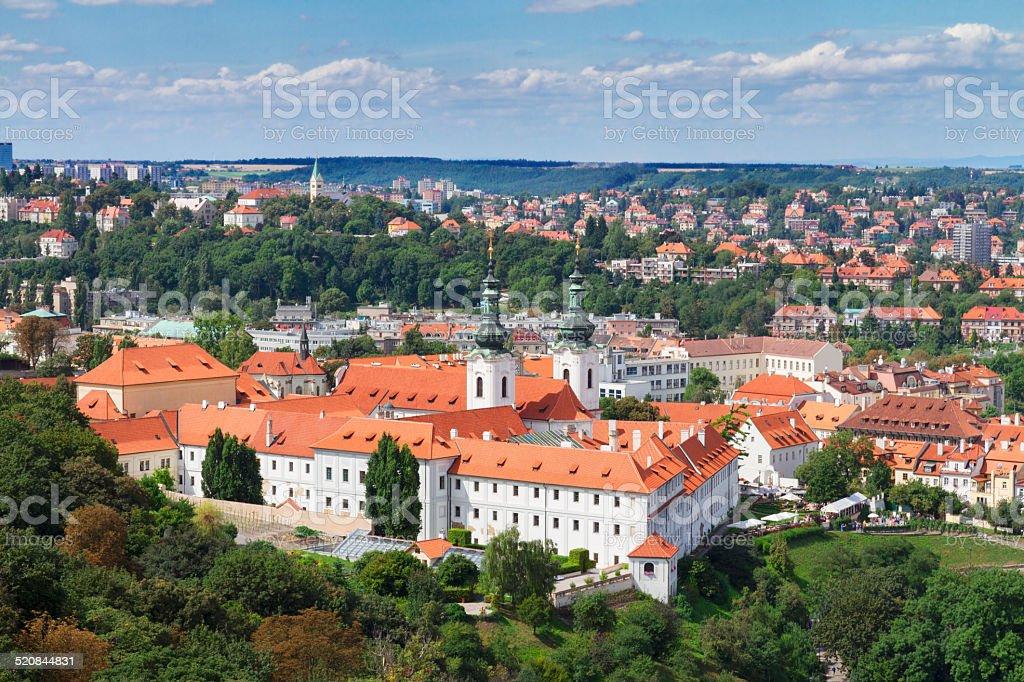 Strahov monastery, Prague stock photo