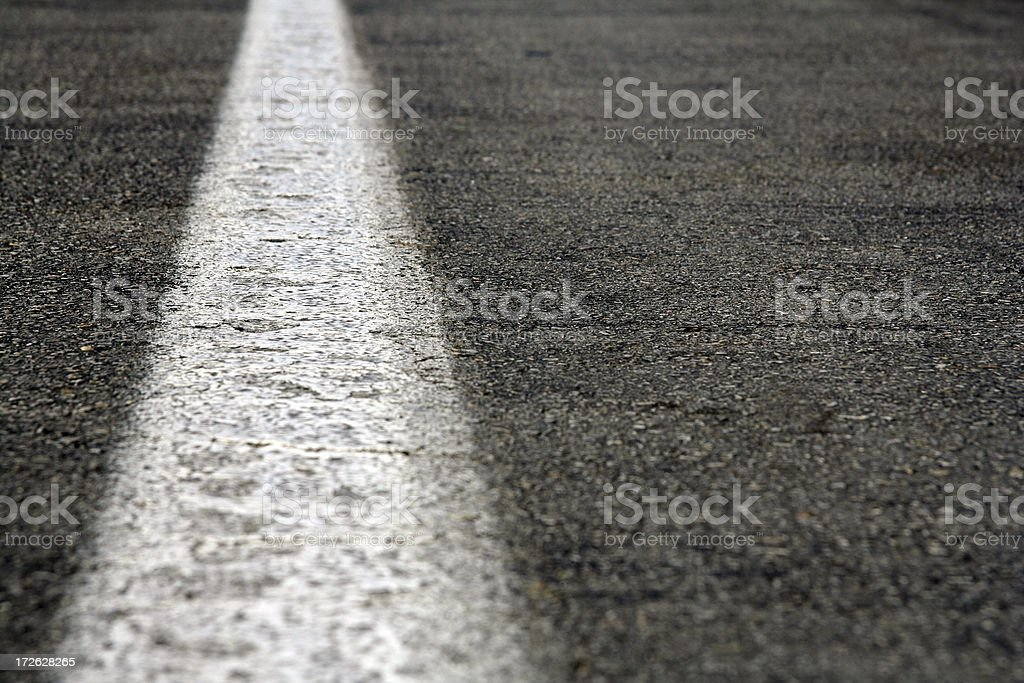 Straight Line royalty-free stock photo