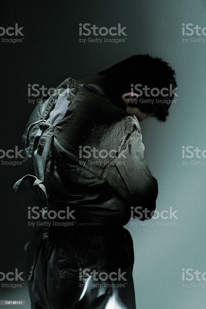 straitjacket royalty-free stock photo