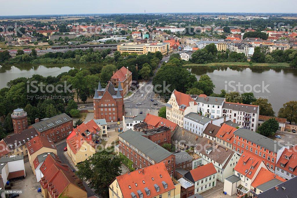 Stralsund stock photo