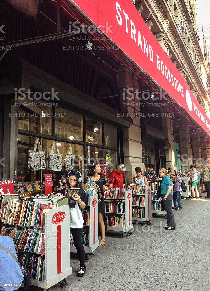Strand Bookstore, New York stock photo