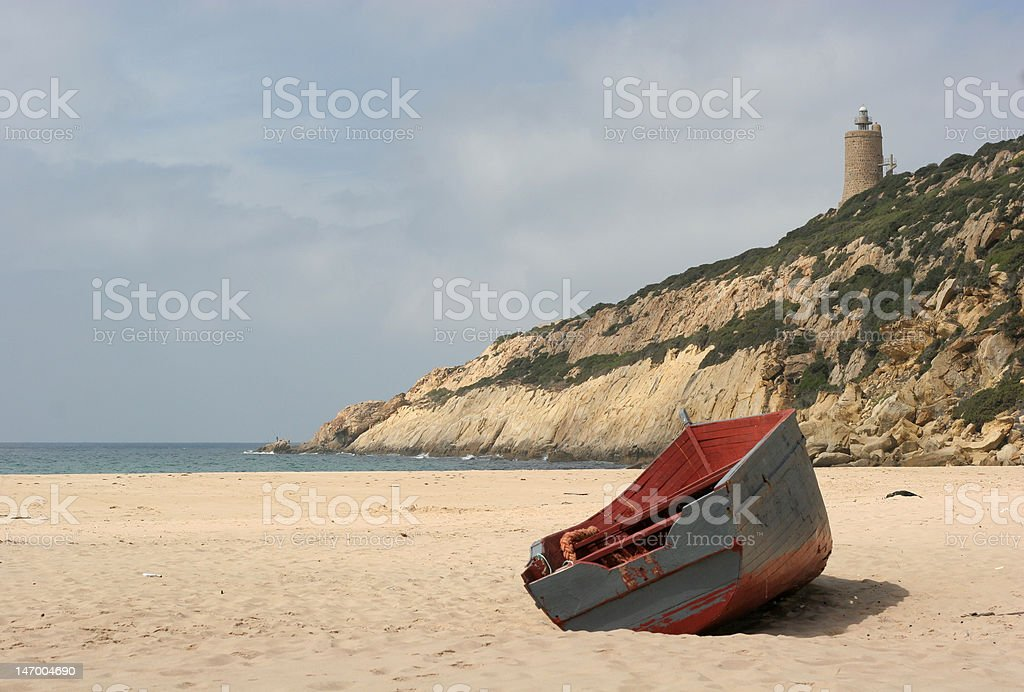 Stranded 2 royalty-free stock photo