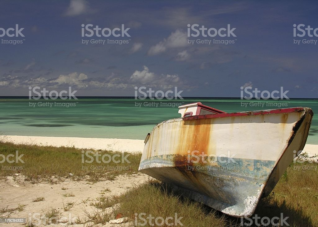 Stranded royalty-free stock photo