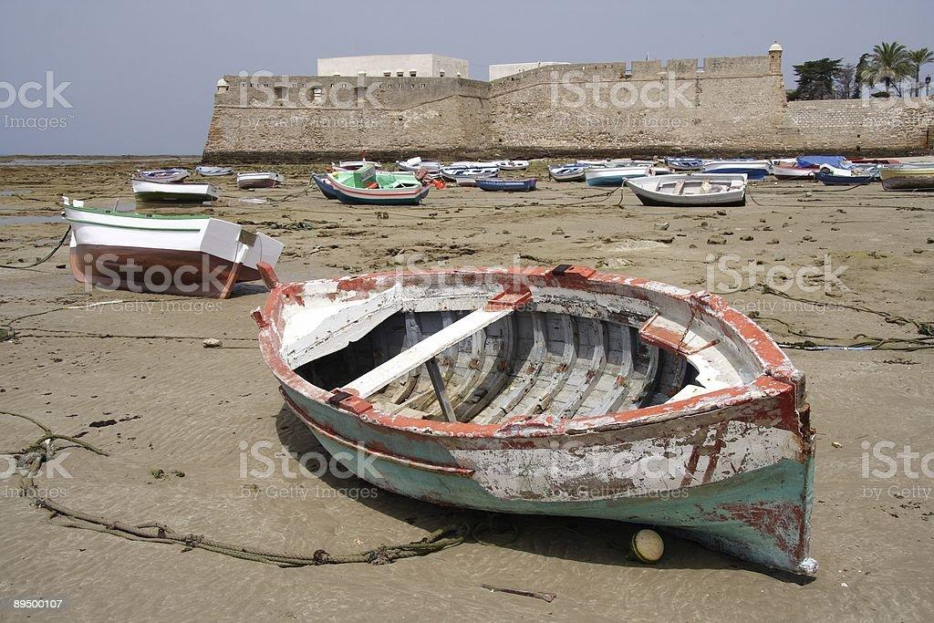 Stranded  stock photo