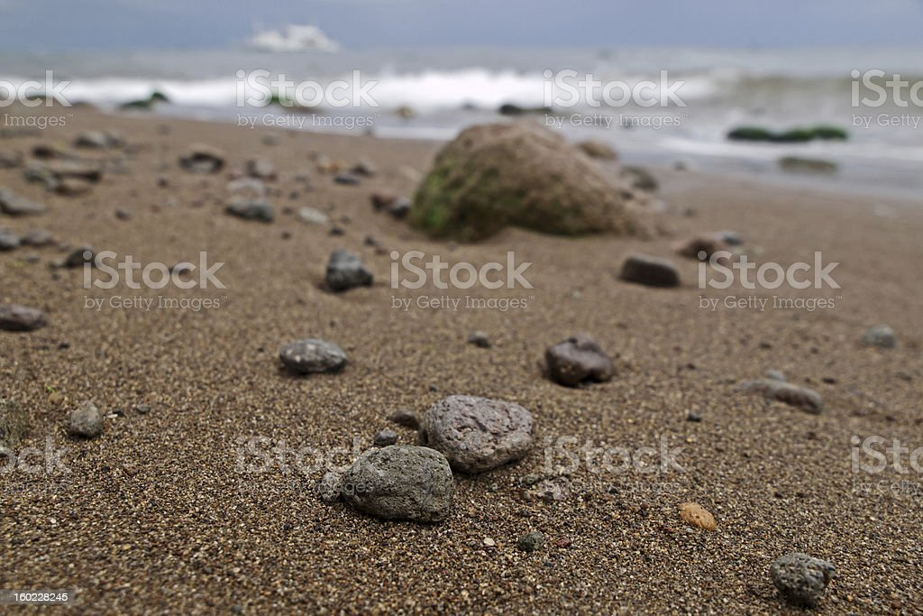 Stranded stones royalty-free stock photo