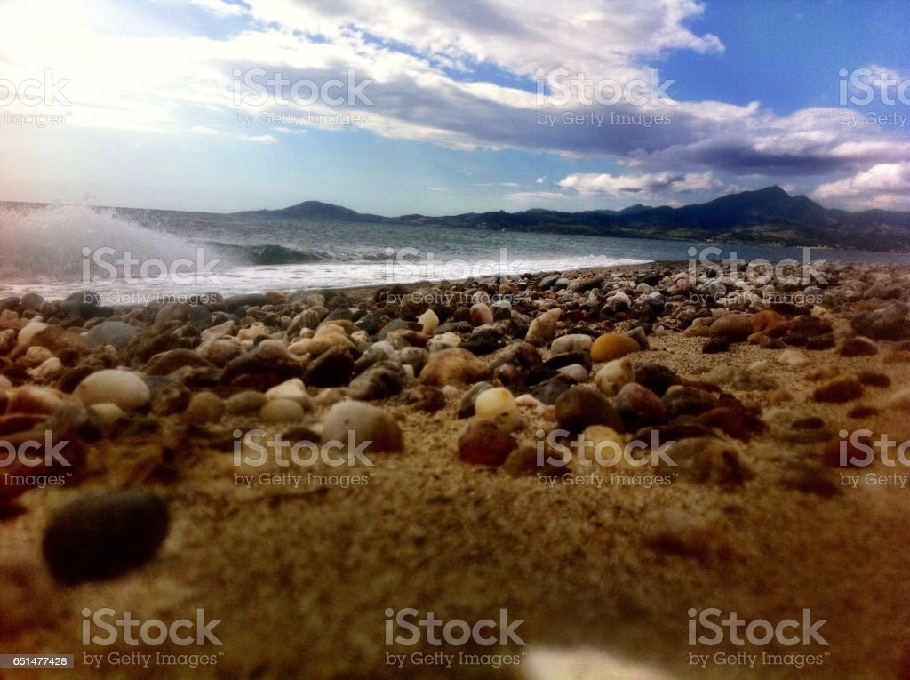 Stranded visions stock photo