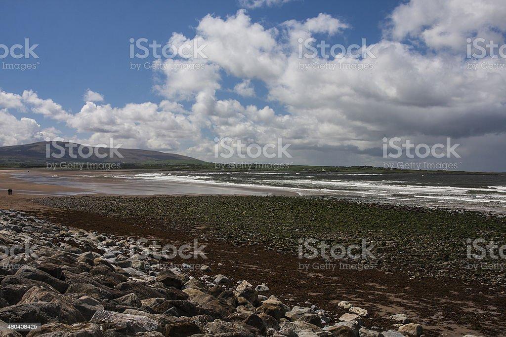 Strandhill Beach Sligo on the Wild Atlantic Way stock photo